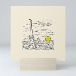 Paris Pride Mini Art Print