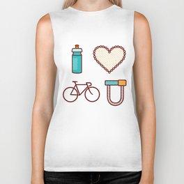 I ♥ 2 Ride U Biker Tank
