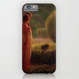 The Love of my Life (L'amore nella vita) by Giuseppe Pellizza da Volpedo iPhone Case