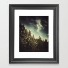 SPIRITS OF THE NORTH WOODS Framed Art Print