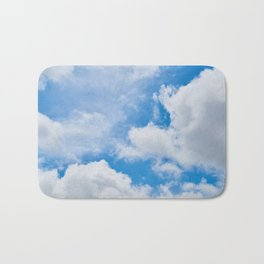 Partly Cloudy Bath Mat