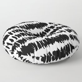Modern Paint Stripe Floor Pillow