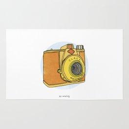 So Analog - Agfa Clack Retro Vintage Camera Rug
