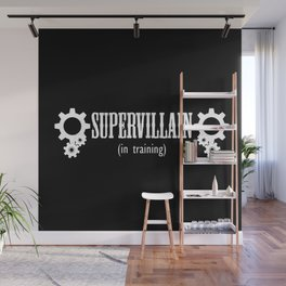 Supervillain in Training Wall Mural