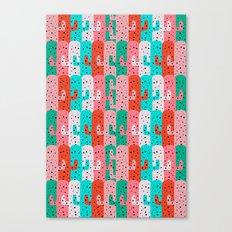 Cacti arrangement Canvas Print