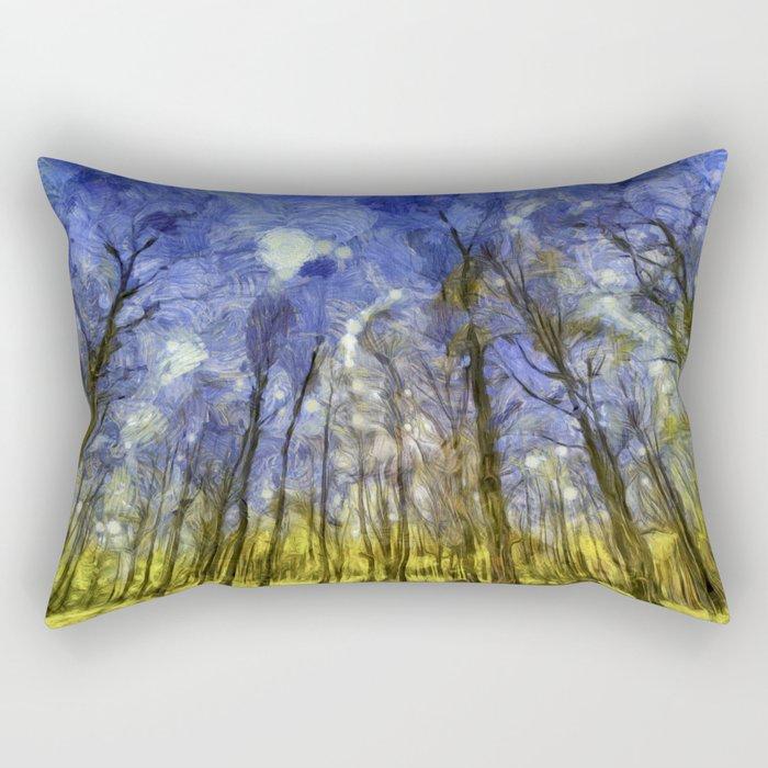 Fantasy Art Forest Rectangular Pillow