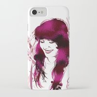 amy hamilton iPhone & iPod Cases featuring Amy by Abbi Laura