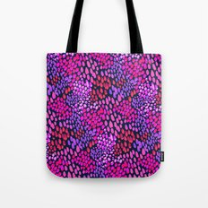Purple dots Tote Bag