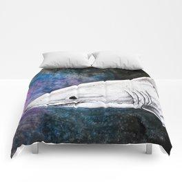 Galaxy Shark Comforters