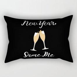 New Year Same Me Rectangular Pillow