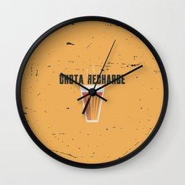 Funny Chai Hindi Quote Wall Clock