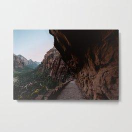 Zion Canyon Trails Metal Print