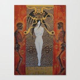 Ich Bin Im Tod Erbluht (In Death Have I Bloomed) Canvas Print