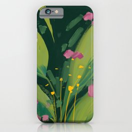 night bloom iPhone Case
