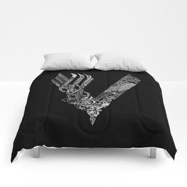 Black Vikings Comforters
