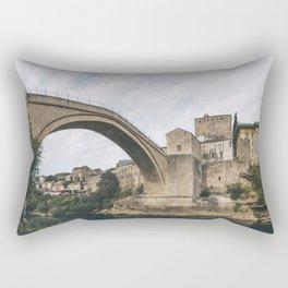 Mostar, Bosnia and Herzegovina Rectangular Pillow