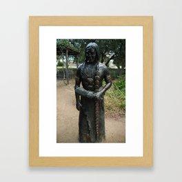 Peaceful Chief Framed Art Print