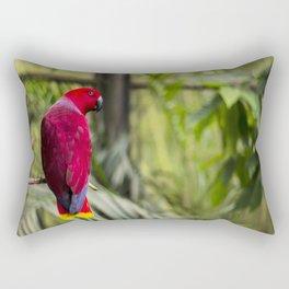 eclectus parrot Rectangular Pillow