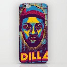J Dilla ( Top 10 Producers series ) iPhone Skin