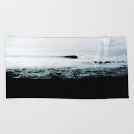 Dark Water Beach Towel