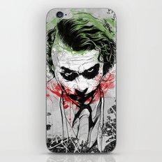 Joker - Heath Ledger iPhone & iPod Skin