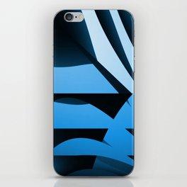 Blue Mystery iPhone Skin