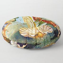 Botticelli The Birth of Venus Floor Pillow