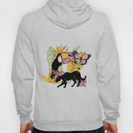 Tropical plants and animals Hoody