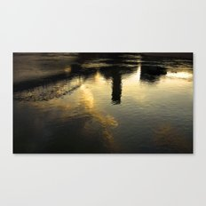 Reflection of Tortosa Canvas Print