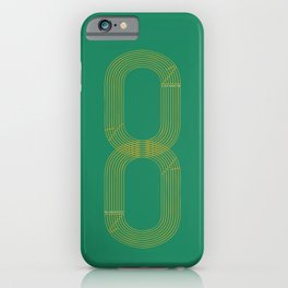 Eight track - runners never quit iPhone Case