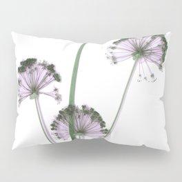 Pink flowers . wallpaper , flower decor, printable art Pillow Sham