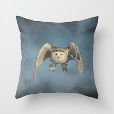 From the mist cometh mystery Throw Pillow
