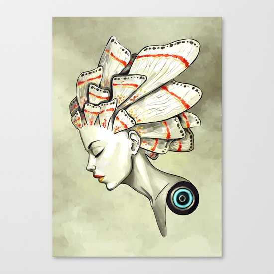 Moth 2 Canvas Print