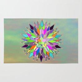 Mandala #106, Star Burst Rug
