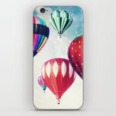 Dreaming of Hot Air Balloons iPhone Skin