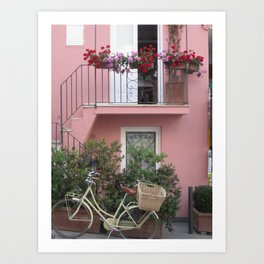 A Day in the Life - Capri, Italy Art Print