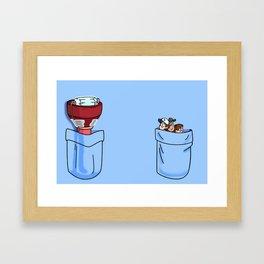 a little of Gravity Falls Framed Art Print