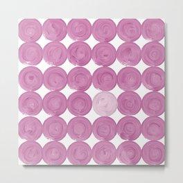 Pinker dot dot, dot pink Metal Print