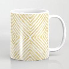 Gilded Bars Mug