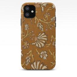 KALAMI FLORAL MUSTARD iPhone Case