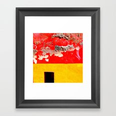 Clouds and passion Framed Art Print