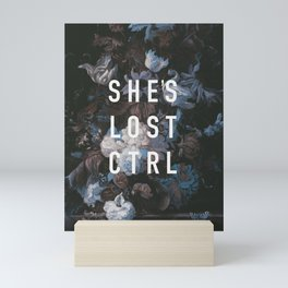 She's Lost Control Mini Art Print