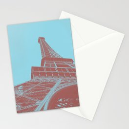 Eiffel Tower Color Pop Stationery Cards