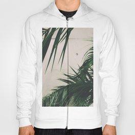Tropical Palm Leaves Hoody