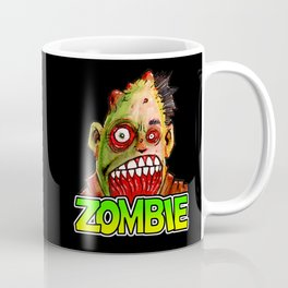 ZOMBIE title with zombie head Coffee Mug