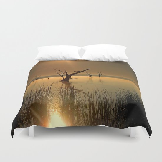 Worshipping Nature Duvet Cover