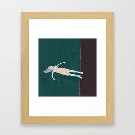 Silent Floating Framed Art Print