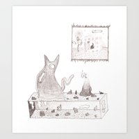 Display Shelf Art Print