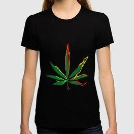 Crazy Marijuana Leaves T-shirt