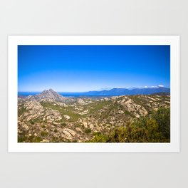 Corse 1.5 Art Print